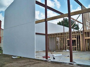 Structural Insulated Panels and Insulated Concrete Forms for residential and commercial construction.